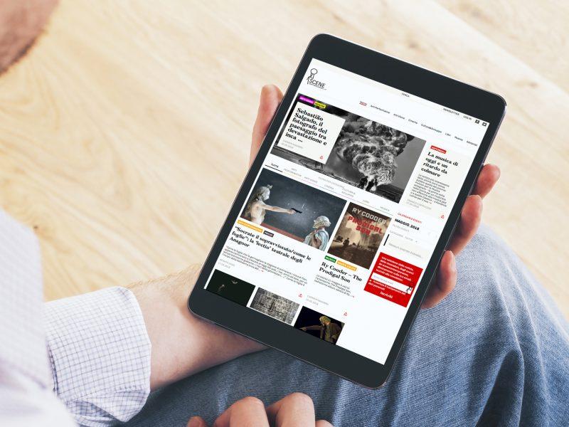 Progettazione e sviluppo di un sito web editoriale