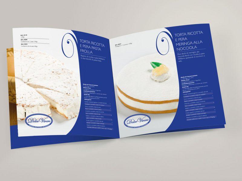 Progetto grafico catalogo prodotti industria dolciaria