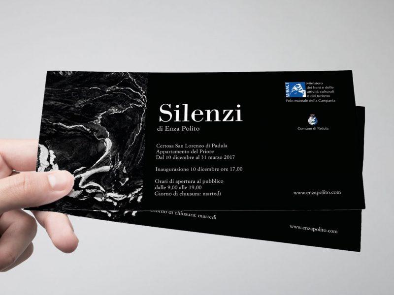 Grafica per invito evento mostra fotografica