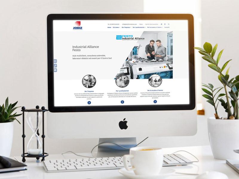Progettazione e sviluppo sito web aziendale